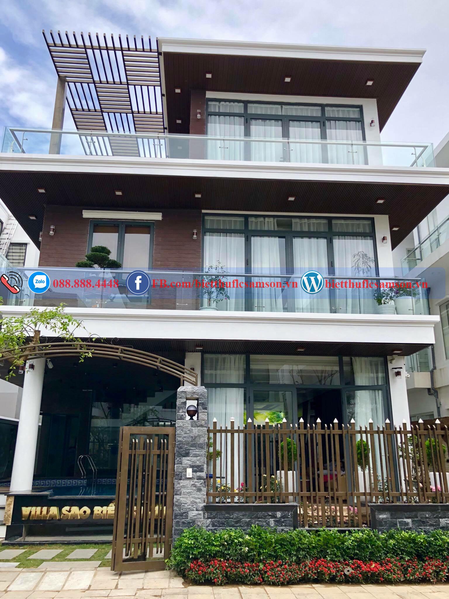 Villa 7PN - Sao biển